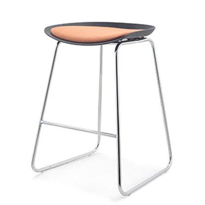 BA7004H-A-BK fashion bar chair