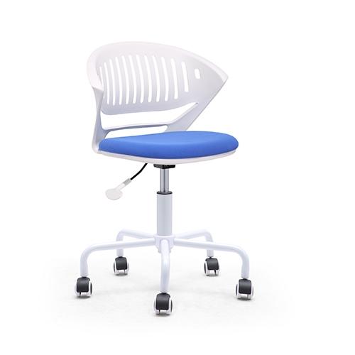 CK501G-B-WH(BLUE) simple chair