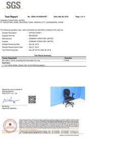 MS7003 European EN1335 Report